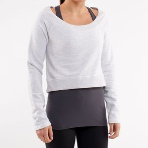 Lululemon Cropped Sweater / Pullover - White